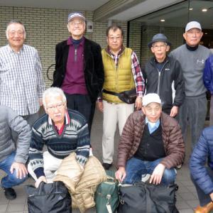 昔の仕事仲間とのゴルフ