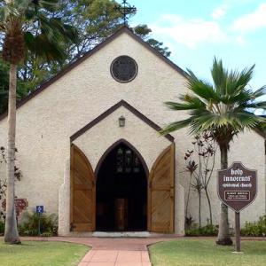 ラハイナの教会、寺院とショッピングセンター