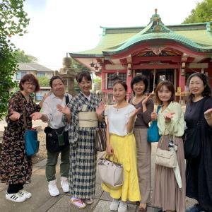 亀岡八幡宮&所作のツアー、有難うございました