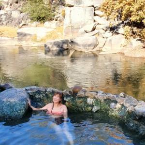 天然露天温泉に行ってきました
