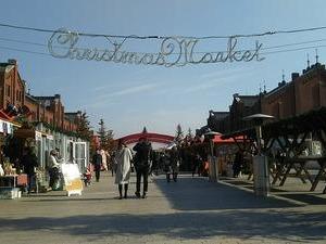 【まちねり】 #赤レンガ倉庫 でも #クリスマスマーケット に遭遇した