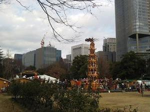 【まちねり】 #日比谷公園 で #東京クリスマスマーケット 初日に遭遇した