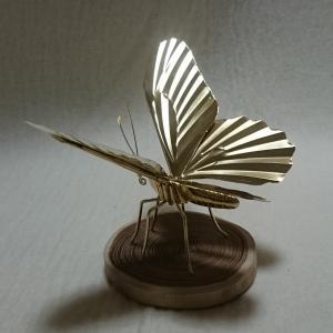 NHK文化センター梅田教室でする銅細工の蝶 制作体験の募集が始まりました