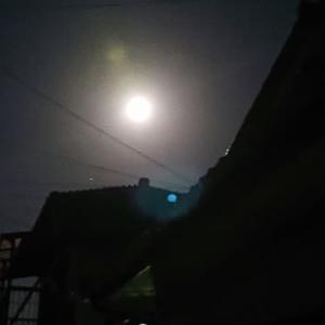 月が綺麗です♪ ✩⚫꒳⚫✩