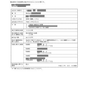 同族会社と登記事項と妖怪アンテナについて☆