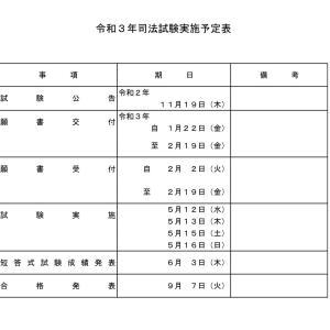【推定値】2021司法書士試験は令和3年7月4日とアキアカネについて☆