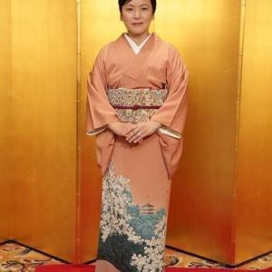 10周年.想い出の桜の着物の関東からのお客様
