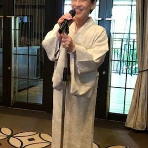11周年・野村エミさん・お母様の着物と帯・シャンソンXmas。
