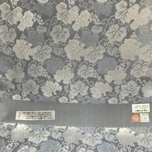 宮階織物・葡萄唐草紋紗の着物+都・絽綴れ八寸。