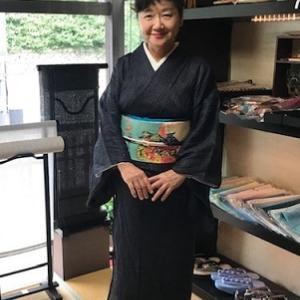 野田淳子さん・田島征彦さん作・素敵な祇園祭の帯。