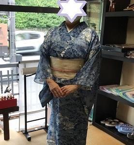 絹紅梅でご来店のお客様・夏物セール開催します。