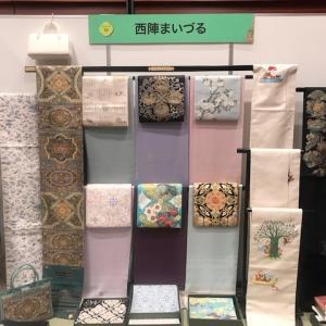 西陣織元コレクションTOKYO2021・始まりました。