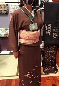 織元コレクション・まいづる帯のお客様・京都の紫陽花2