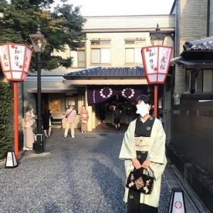 上七軒・二年ぶりの舞踏公演・楓錦会(ふうきんかい)へ