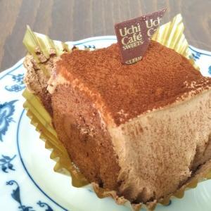 スペシャルショコラケーキを包んだブッシュドノエル☆Uchi Café☆ウチカフェ☆ローソン☆食べてみました(^◇^)