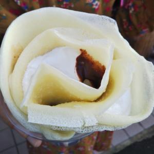 もちもち米粉クレープ☆マロン&ショコラ☆ラ・シュシュ☆浜松市
