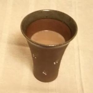 ほうじ茶パウダーと純ココアで、ヘルシーミルクココア\(^o^)/