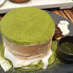 お抹茶ミルクパンケーキ☆TAMAGOYA たまごや☆三島市