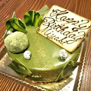 こいまっちゃ☆ガトーナチュールさんのバースデーケーキでお誕生日のお祝いをしました♪