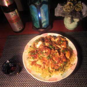 ★マゴチ・イサキ・鶏ガラコラーゲンスープで作る麻婆豆腐堅焼きそばのランチ♪