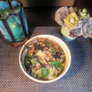 ★新潟の真鱈真子のカラスミ、粕味噌焼きほぐし身の梅茶漬けの夜食♪