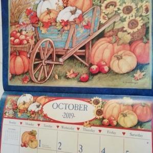 ◆10月のカレンダー