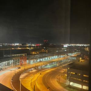 早朝のターミナル