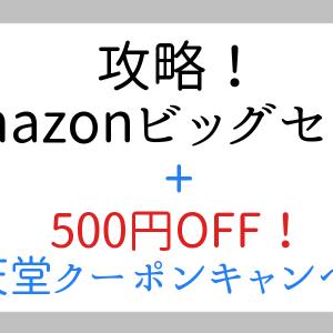 追加で500円OFF!:Amazon5日間のビッグセールのSwitchゲームをさらに安く購入する方法
