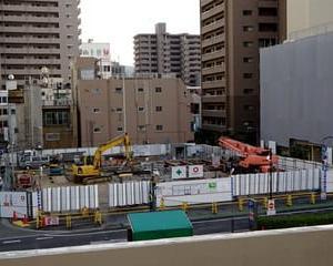 JR福山駅南口の再開発状況2(令和元年秋・三之丸町)