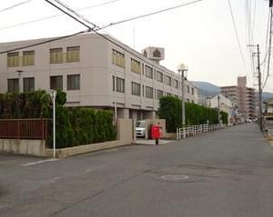 広島刑務所福山拘置支所庁舎等外壁等改修済
