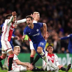 Chelsea 【4-4】 Ajax (2019.11.05 CL4節)