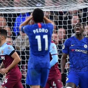 Chelsea 【0-1】 West Ham (2019.11.30 PL14節)