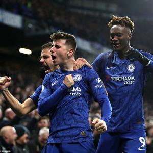 Chelsea 【2-1】 Aston Villa (2019.12.04 PL15節)