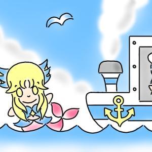 カモメと水兵さん