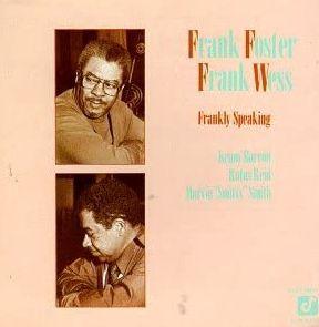 BLUES BACKSTAGE - FRANK FOSTER FRANK WESS