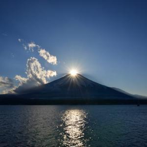 ダイヤモンド富士~山中湖(ママの森の下)(回想)
