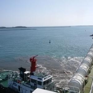 6月 宮崎の旅 フェリーは宮崎港へ ♪