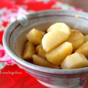 素材一品だけおかず*火の通りバツグン、めんつゆで時短!長芋だけ煮るんです。
