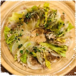 レンジ5分!冷蔵庫→すぐできる豚と大根ミルフィーユのポイント 簡単時短晩ご飯