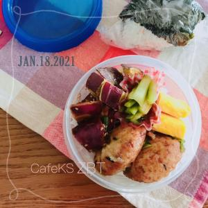 夫のお弁当二日分、惣菜詰めるだけでごめん!