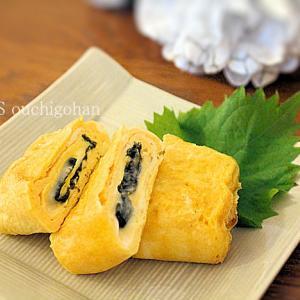 卵焼きバリエ*のりチーズ
