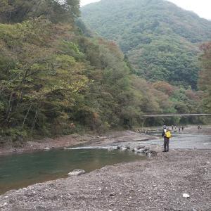 上野村神流川冬季釣場オープン