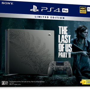 PlayStation 4 Pro The Last of Us Part II Limited Edition販売!