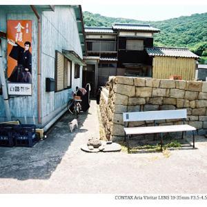 File,2155 【Cat walk ~佐柳島】 CONTAX Aria / Lomography100