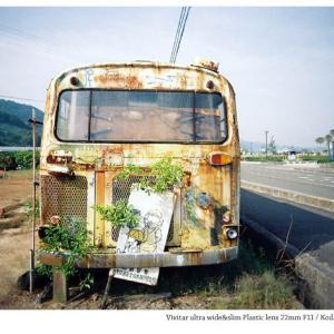 File,1956 【Erosion~島バス2】 Vivitar ultra wide&slim / Lomography 400