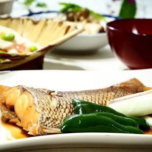 ほっこり☆鯛の煮つけ&豆腐のきのこあんかけ☆