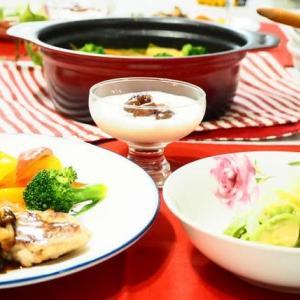 ☆重ねポークソテー 和風きのこソース&カレー鍋☆
