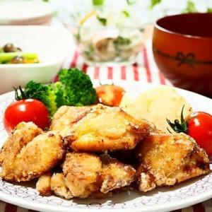 ♪鶏のから揚げ&大根とハムのマリネ♪