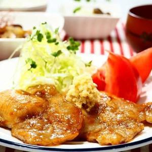 ☆豚ロースのしょうが焼き&根菜のナッツきんぴら☆