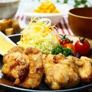 ☆鶏のから揚げ ゆずこしょう風味&かぼちゃのクリーミーサラダ☆